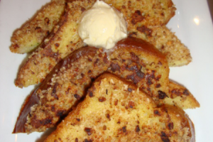 Pecan-Crusted French Toast Breakfast - delivery menu