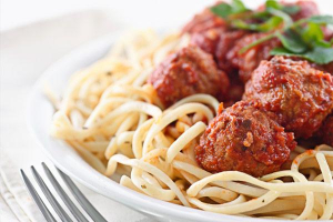 Spaghetti & Meatballs - delivery menu