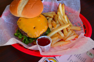 Cheddar Cheeseburger - delivery menu