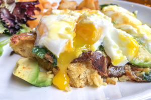 Country Benedict Brunch - delivery menu