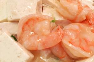 Shrimp with Tofu - delivery menu