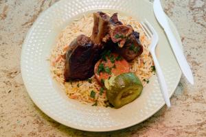 Lamb Chop Platter - delivery menu