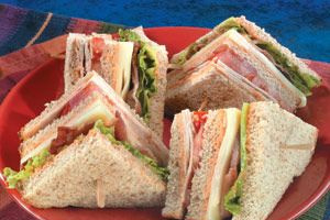 BLT Club Sandwich - delivery menu