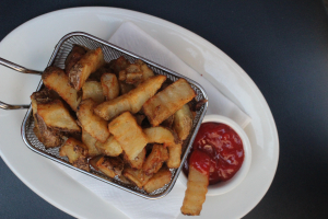 Sarge's Famous Crinkle Cut Fries - delivery menu
