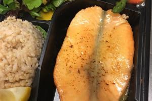 Miso Salmon - delivery menu