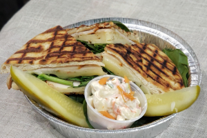 Smoked Turkey Panini - delivery menu