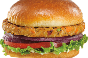 6. Veggie Burger Combo - delivery menu