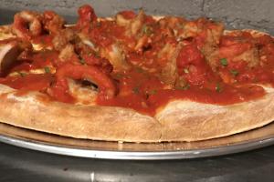 Fried Calamari Pizza - delivery menu