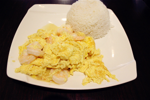 Scrambled Egg with Baby Shrimps Lunch Special - delivery menu