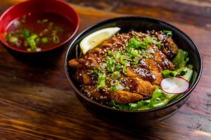 Pork Katsu Donburi - delivery menu