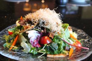 Salmon Skin Salad - delivery menu
