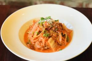 Kimchi Bacon Spaghetti - delivery menu