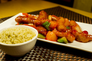 P6. Sweet and Sour Divine Plate - delivery menu