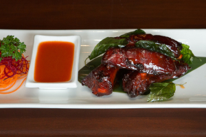 Beer-Braised Crispy Ribs - delivery menu