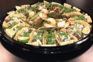 Taco Tray - delivery menu