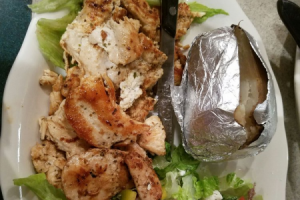Chicken Souvlaki - delivery menu