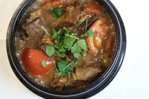 Braised Lamb in Brown Sauce - delivery menu