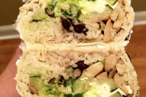 Veggie Burrito - delivery menu