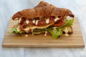 BLT On Croissant - delivery menu