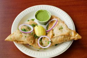 3. Vegetable Samosa - delivery menu
