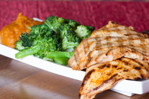Grilled Chicken Platter - delivery menu