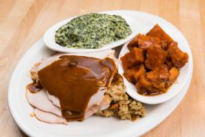 Fresh Sliced Roast Turkey - delivery menu