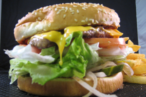 Cheese Burger - delivery menu