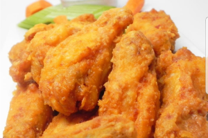 15 piece hot wings - delivery menu