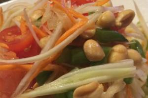 Y1. Papaya Salad - delivery menu
