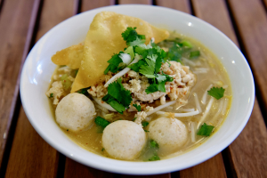 Tom Yum Chicken Noodle Soup - delivery menu