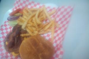 Bacon Cheeseburger - delivery menu