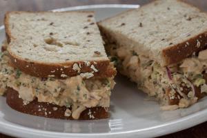 Deluxe Tuna Salad Sandwich - delivery menu