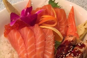 Fancy Sake Don - delivery menu