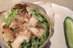 Chicken Caesar Wrap - delivery menu