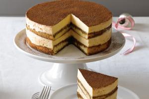 Italian Tiramisu Cake - delivery menu