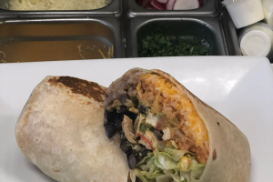 Carnitas burrito (Pork) - delivery menu