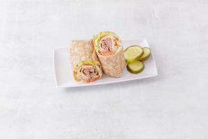 2. Western Scrambler Wrap - delivery menu