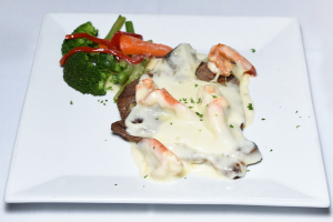 Steak Mozzarella Shrimp - delivery menu