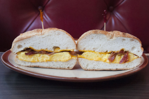 Two Egg Sandwich - delivery menu