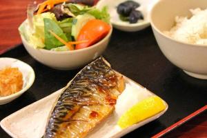Saba Shioyaki - delivery menu