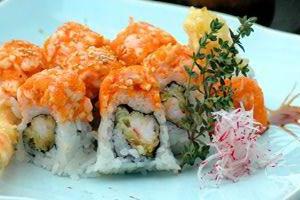 Spicy DBL Shrimp Roll - delivery menu