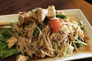 Som Tam Kortmuar Salad *** - delivery menu