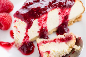 130. Strawberry Cheesecake - delivery menu