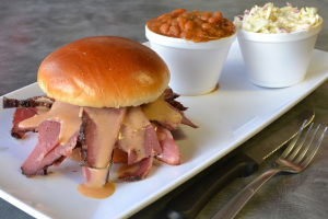 Smoked Pastrami Sandwich - delivery menu