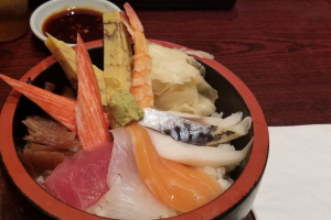 Chirashi (Lunch Only) - delivery menu