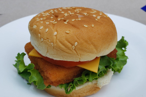 Fried Fish Sandwich - delivery menu