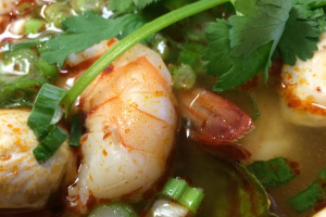 Tom Yum Soup Lunch - delivery menu