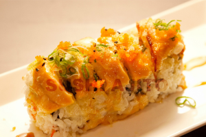 Baked Salmon Roll - delivery menu