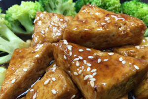 D39. Sesame Tofu Dinner - delivery menu