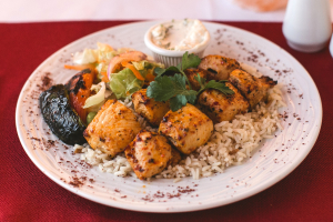 Chicken Shish Platter Lunch Special - delivery menu